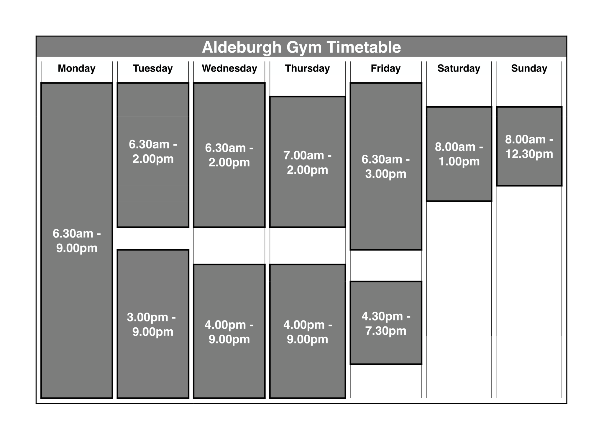 Mint Fitness Timetable-2