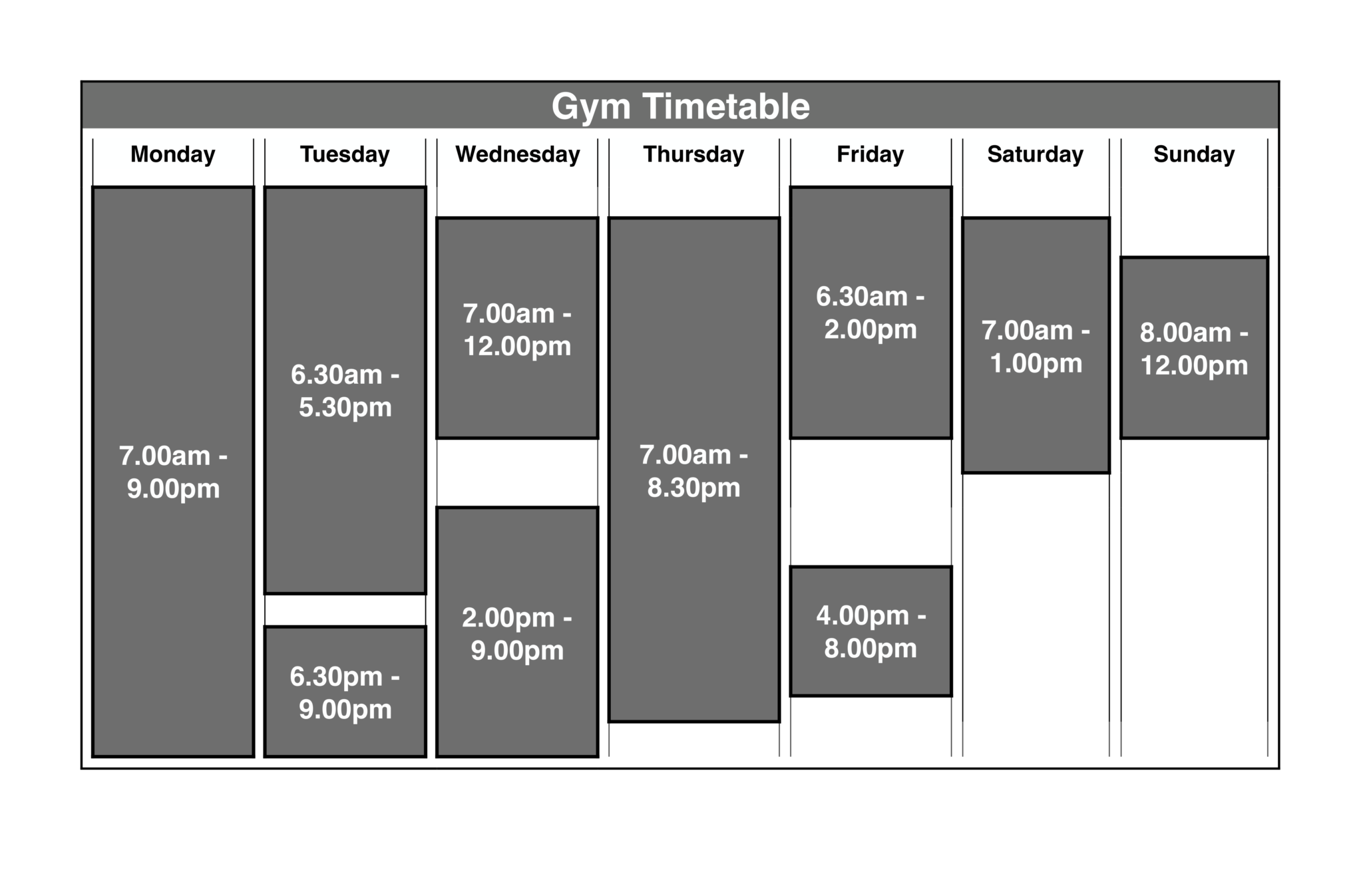 Mint Fitness Timetable-3